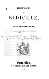 Ridicule, Physiologie de