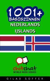 1001+ Basiszinnen Nederlands - IJslands
