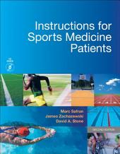 Instructions for Sports Medicine Patients E-Book: Edition 2