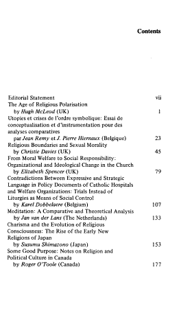 The Annual Review of the Social Sciences of Religion PDF