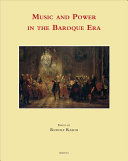 Music and Power in the Baroque Era