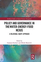 Policy and Governance in the Water Energy Food Nexus PDF