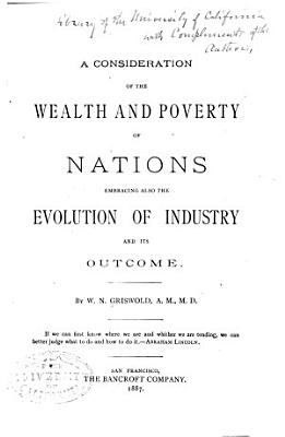 A Consideration of the Wealth and Poverty of Nations PDF