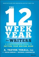 The 12 Week Year for Writers PDF