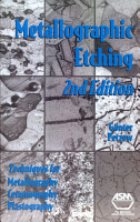 Metallographic Etching  2nd Edition PDF