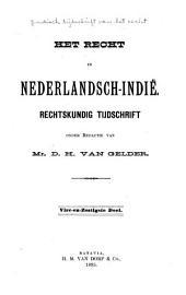 Indisch tijdschrift van het recht: orgaan der Nederlandsch-Indische juristen-vereeniging, Deel 64