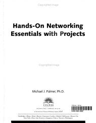 Hands on Networking Essentials with Projects PDF