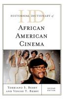 Historical Dictionary of African American Cinema PDF
