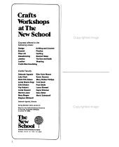 Craft Horizons PDF