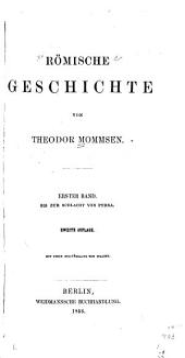 Römische Geschichte: bd. Bis zur schlacht von Pydna