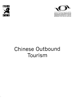 Chinese Outbound Tourism PDF