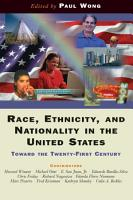 Race  Ethnicity  And Nationality In The United States PDF