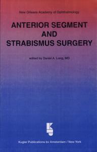 Anterior Segment and Strabismus Surgery PDF