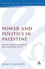 Power and Politics in Palestine