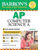 Barron s AP Computer Science A With Bonus Online Tests PDF