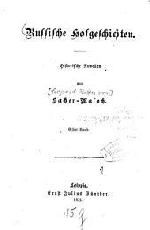 Russische Hofgeschichten: histor. Novellen, Band 1