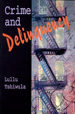 Crime and Delinquency PDF
