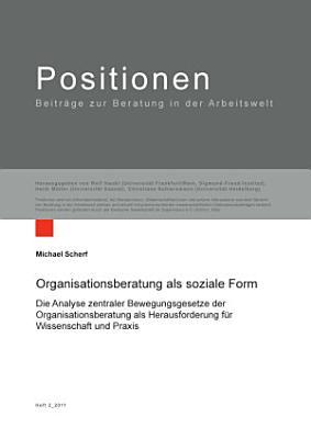 Organisationsberatung als soziale Form PDF