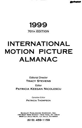 International Motion Picture Almanac PDF