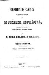 Colección de cánones de la Iglesia española, 4