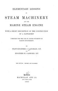 Elementary Lessons in Steam Machinery and the Marine Steam Engine PDF
