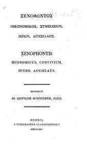Œconomiens, Convivium, Hiero, Agesilans