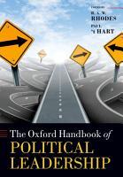 The Oxford Handbook of Political Leadership PDF