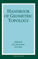 Handbook of Geometric Topology PDF