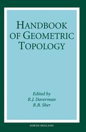 Handbook of Geometric Topology