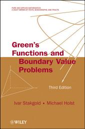 Green's Functions and Boundary Value Problems: Edition 3