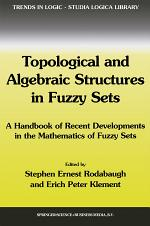 Topological and Algebraic Structures in Fuzzy Sets
