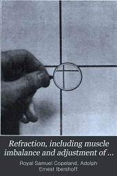 Refraction, including muscle imbalance and adjustment of glasses