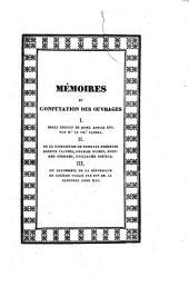 Observations ... sur l'ouvrage de Mr le Chr Canina, intitulé Des Édifices de Rome ancienne, etc. conjointement à deux lettres d'A. Fulvius et de Frère Joconde. Traduction de J. Bourelly. (Parallèle entre la Description de Rome par Messieurs E. Platner, C. Bunsen, E. Gerhard, G. Röstell et celle de Mr J. Riva par Mr N. Leoni; revu et augmenté par le susdit Mr Riva. Observations sur le Palimseste de la République de Cicéron, publié à Rome, 1822, par son Em. le Cardinal Ange Mai.).