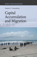 Capital Accumulation and Migration PDF