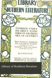 Library of Southern Literature: Volume 8