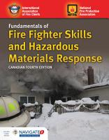 Canadian Fundamentals of Fire Fighter Skills and Hazardous Materials Response PDF