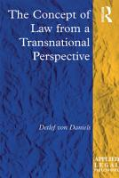 The Concept of Law from a Transnational Perspective PDF