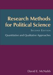 Research Methods for Political Science