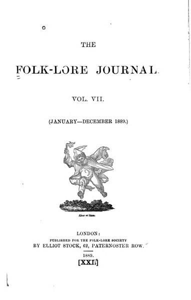 The Folk lore Journal PDF
