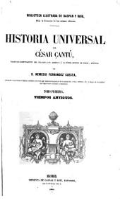 Historia universal: Volumen 1