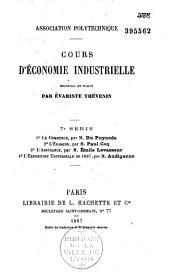 Cours d'économie industrielle