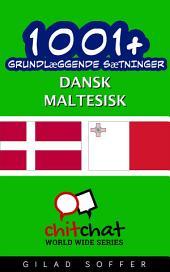 1001+ grundlæggende sætninger dansk - maltesisk