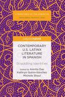 Contemporary U S  Latinx Literature in Spanish PDF