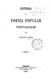 Historia da poesia popular portugueza