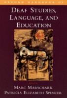 Oxford Handbook of Deaf Studies  Language  and Education PDF