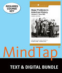 Major Problems in American History   Mindtap History  6 month Access