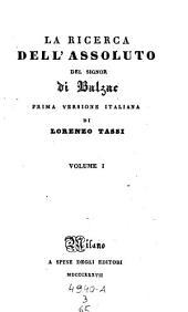 La ricerca dell'assoluto. Versione di Lorenzo Tassi: Volume 3;Volume 65