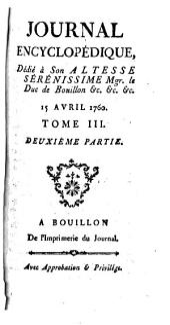 Journal encyclopédique: Volume3,Partie2