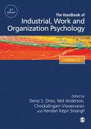 The SAGE Handbook of Industrial  Work   Organizational Psychology  3v PDF