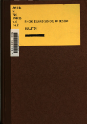 Bulletin of the Museum of Art: Volume 4, Issue 2